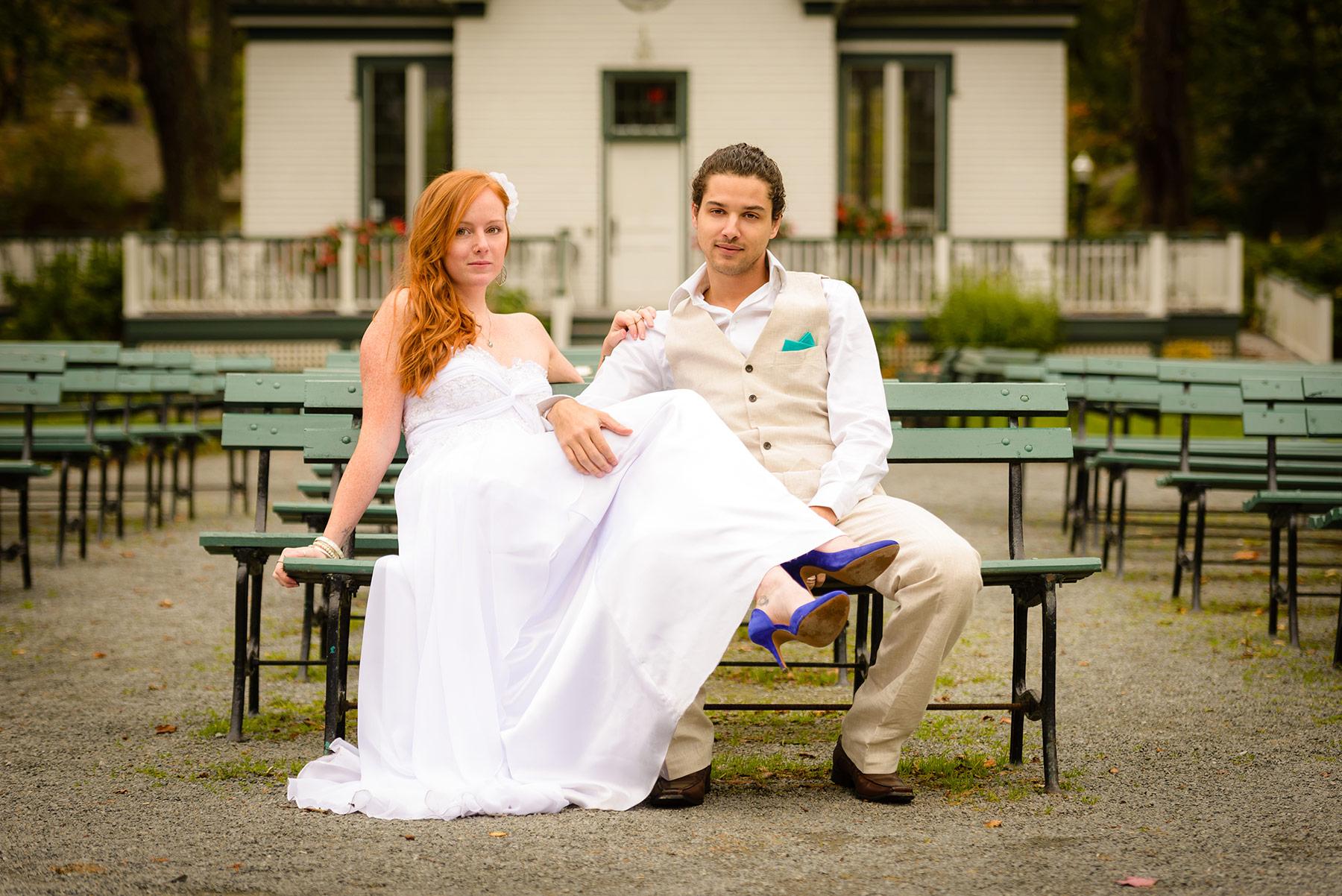 Halifax Public Gardens Wedding   Christine & Matt