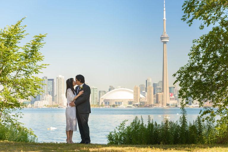 Toronto Island Wedding | Corwin & Wen