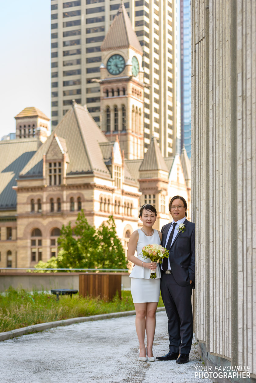 Toronto Island Wedding | Toronto City Hall Wedding | Corwin & Wen