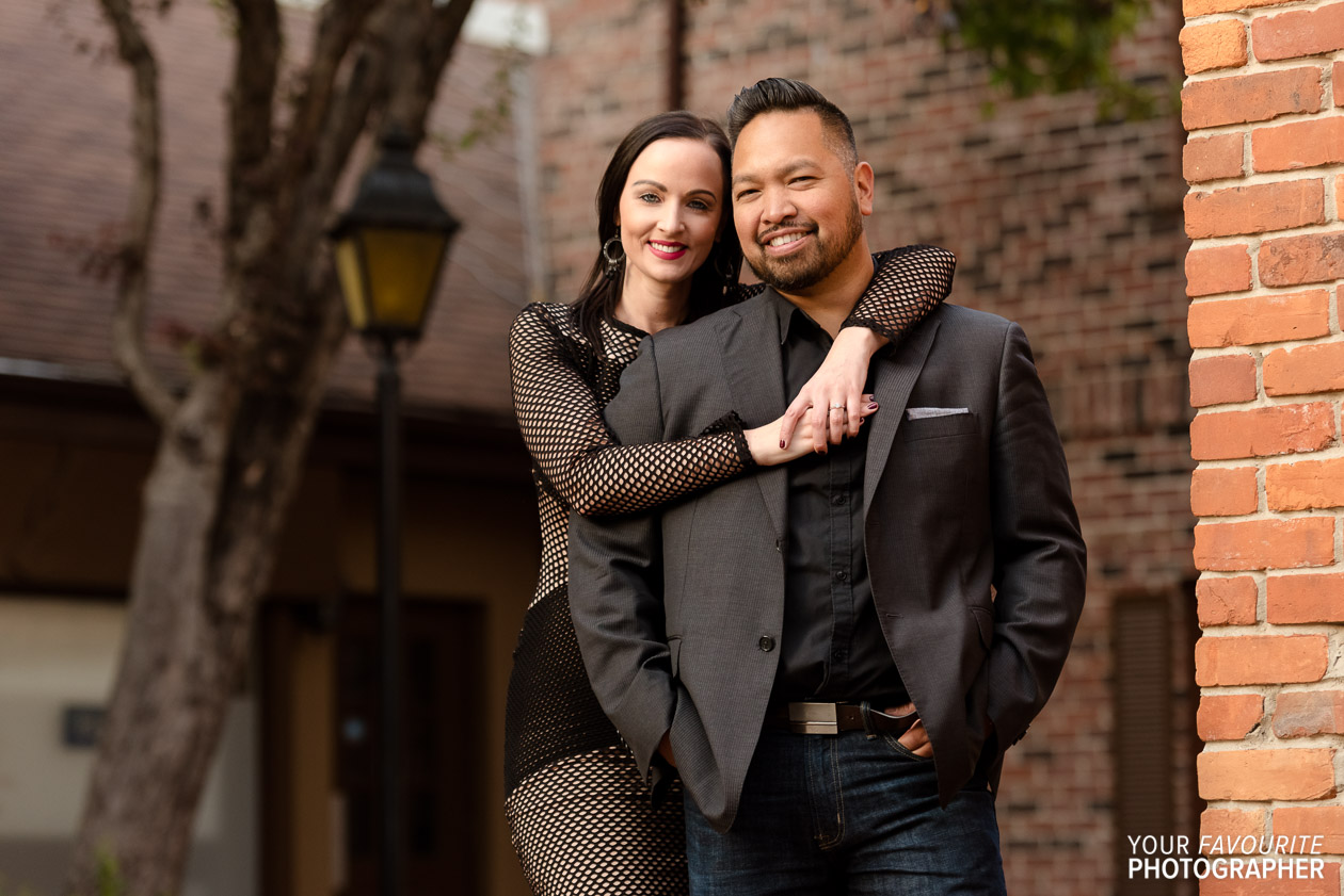 Village Square Engagement Photos | Rob & Melissa