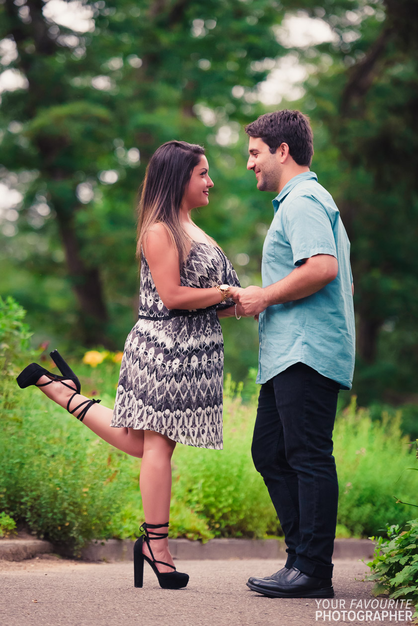 High Park Engagement Photos | Adrian & Nilou