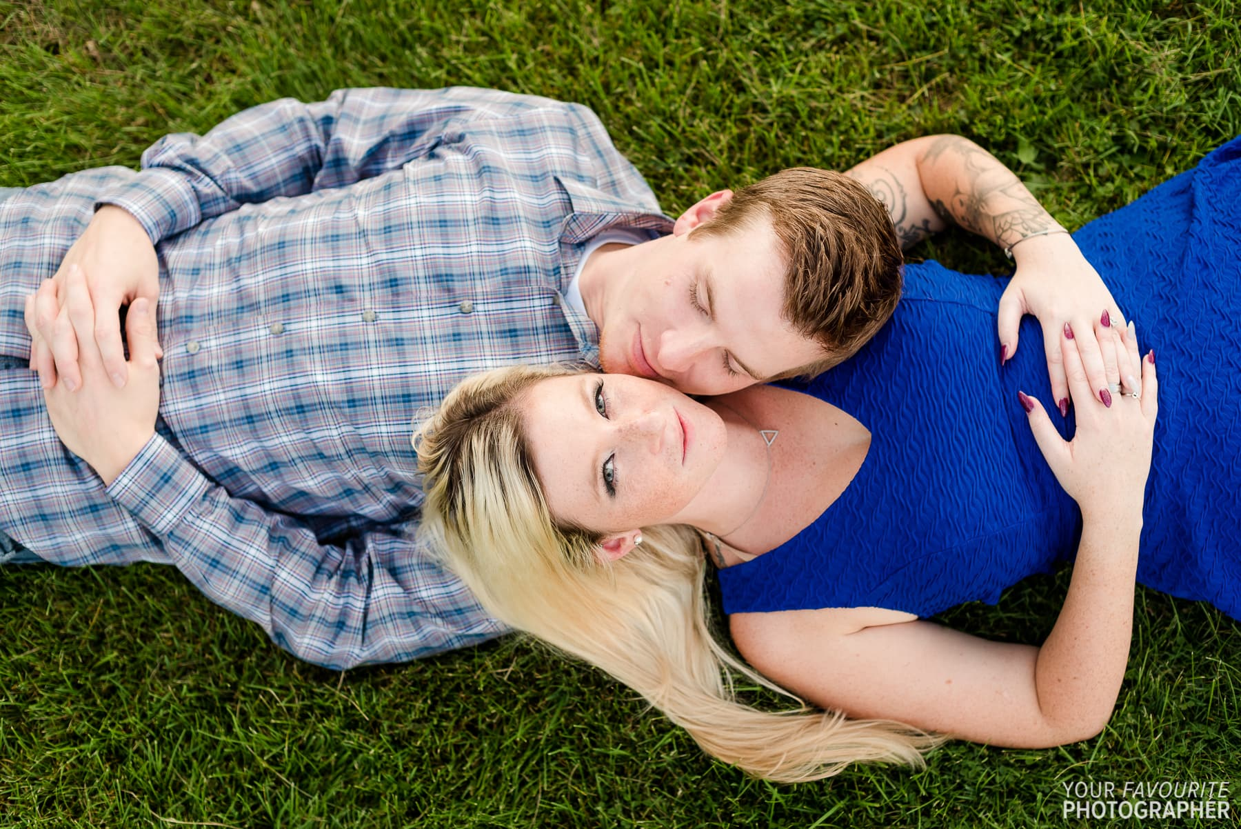 Fall Colours Engagement Photography in Durham Region, featuring Sam & Josh