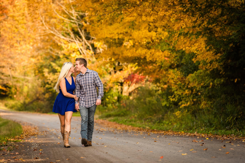 Durham Region Autumn Engagement | Sam & Josh