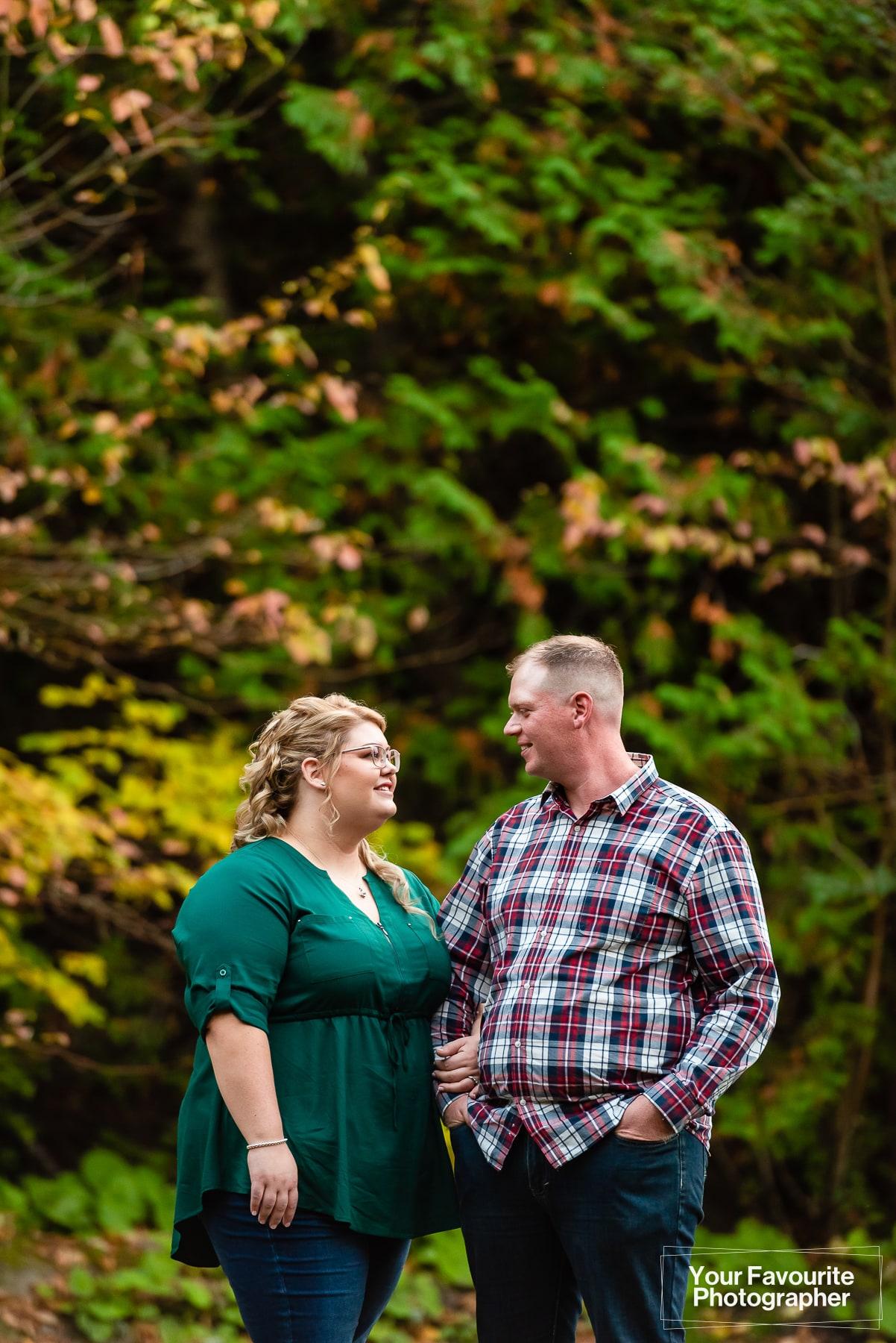 Engagement Photo Shoot at Enniskillen Conservation Area