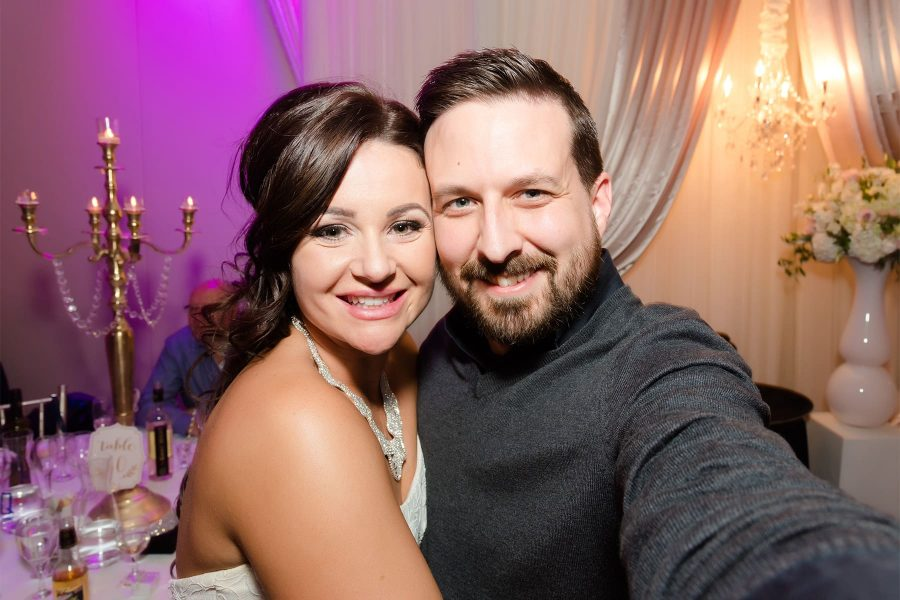 Toronto wedding photographer Ryan Visima and a happy bride